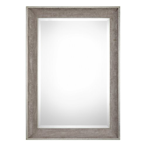 Uttermost Corrado Textured Gray Mirror