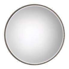 Uttermost Stefania Beaded Round Mirror