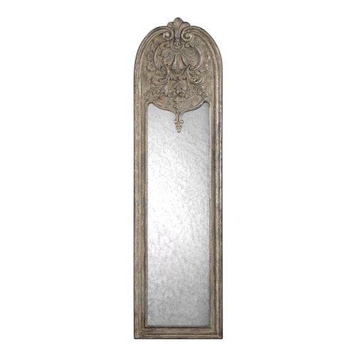 Uttermost Marecchia Antiqued Silver Mirror