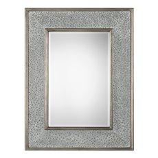 Uttermost Draven Textured Silver Mirror
