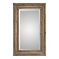 Uttermost Layton Wood Mirror