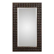 Uttermost Aperia Walnut Oversized Mirror