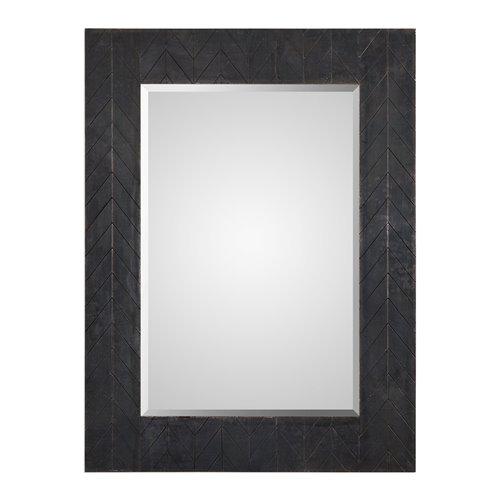 Uttermost Caprione Oxidized Dark Copper Mirror