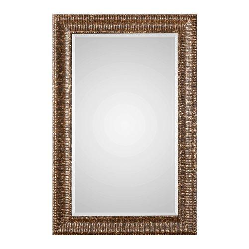 Uttermost Armadale Mahogany Bronze Large Mirror