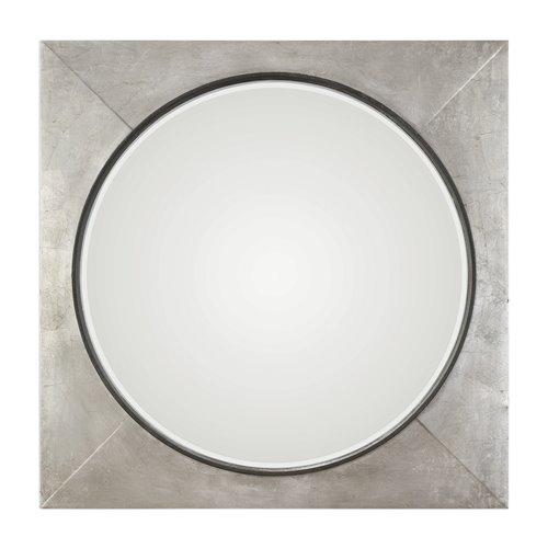 Uttermost Solomon Metallic Silver Mirror
