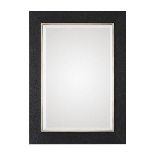 Uttermost Kaira Textured Black Mirror