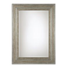 Uttermost Hallmar Wood Mirror