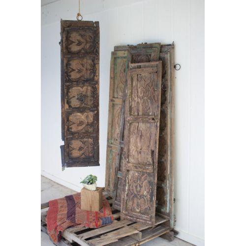 Wooden Door Panel Wall Art - Assorted Designs