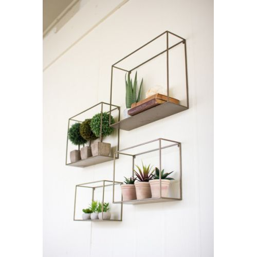 Metal Shelves (set of 4)