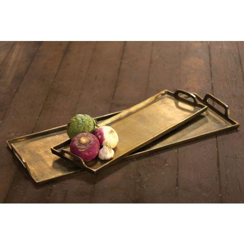 Brass Aluminum Platter - Giant