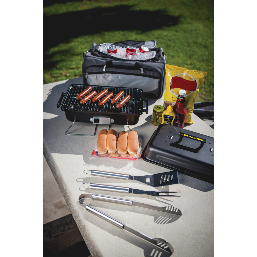 Picnic Time Buccaneer Portable Grill and Cooler Tote