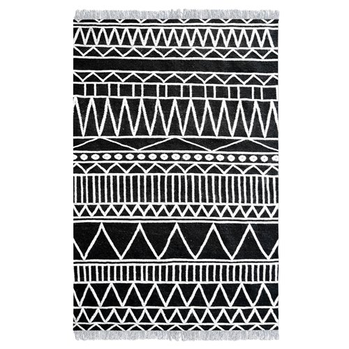 Uttermost Canton Charcoal 5 X 8 Rug
