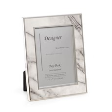 Marble Design 5x7 Picture Frame with Easel Back
