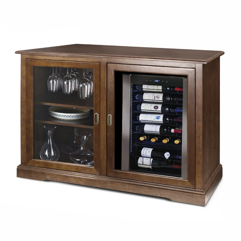 Siena Mezzo Wine Credenza with Wine Refrigerator