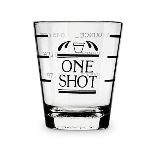 Bullseye: Measured Shot Glass, bulk