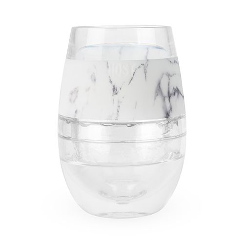 Wine FREEZE Cooling Cup in Marble Single