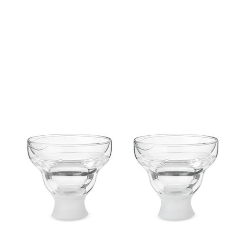 Glass FREEZE Margarita Glass (set of two) by HOST