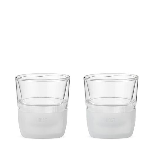 Glass FREEZE Whiskey Glass (set of two) by HOST
