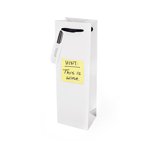 Hint: This is Wine Single-bottle Wine Bag by Cakewalk