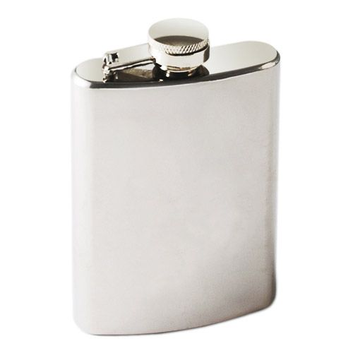 TrueFlask 4 oz Stainless Steel Flask