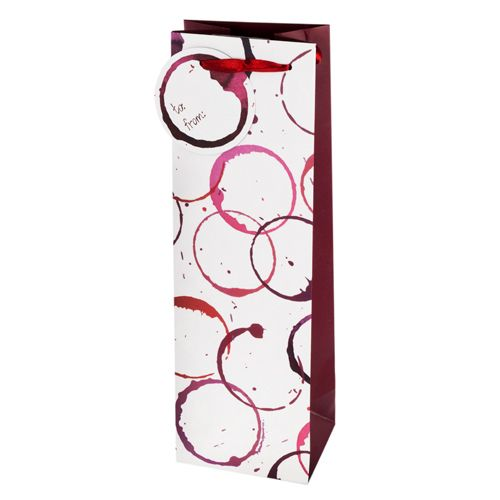 Wine Stain Gift Bag