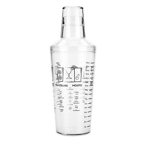 Maraca Plastic Recipe Shaker