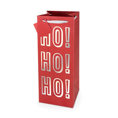 Ho!Ho!Ho! No Mess Glitter 1.5L Bottle Bag By Cakewalk