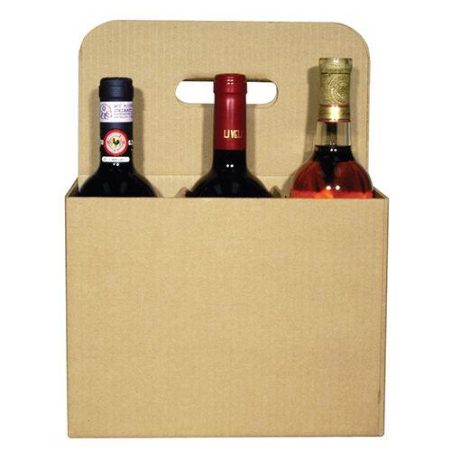 6 Bottle Open Wine Carryout