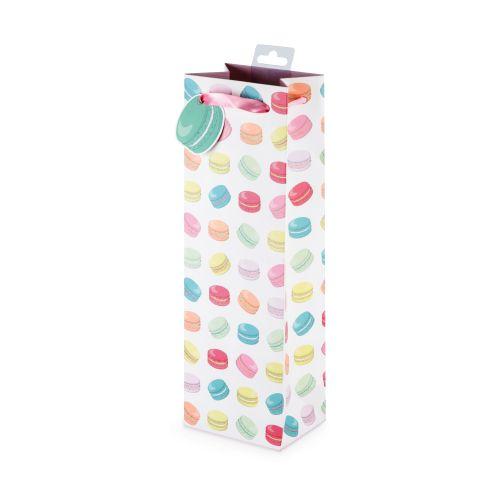 Macaron Pattern Wine Bag