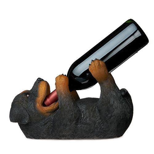 Rottweiler Wine Bottle Holder by True