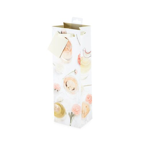 Garden Party Single-Bottle Wine Bag by Cakewalk