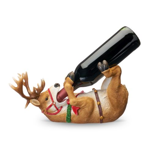 Reindeer Wine Bottle Holder