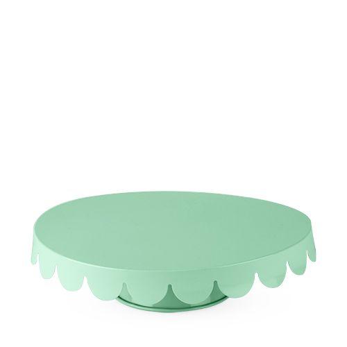 Mint Metal Cake Stand