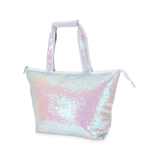 Mermaid Sequin Cooler Tote by Blush