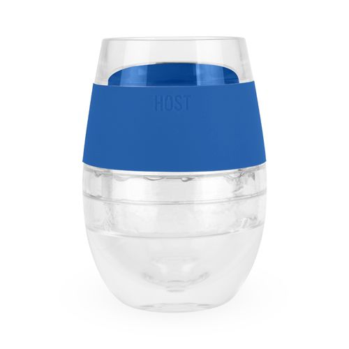 Wine FREEZE Cooling Cup in Blue (1 pack) by HOST
