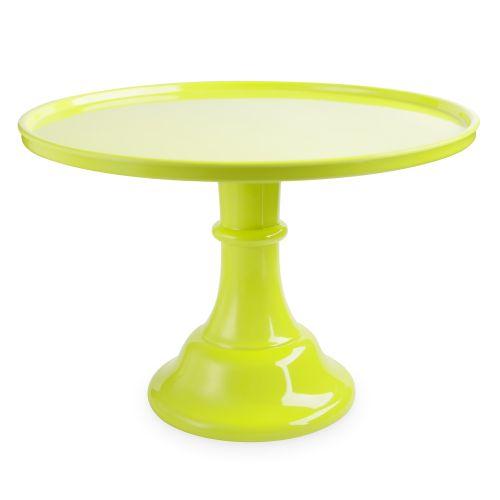 Green Melamine Cake Stand