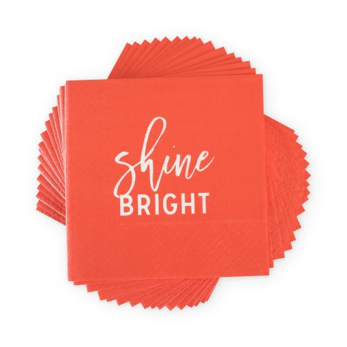 Shine Bright Cocktail Napkin by Cakewalk