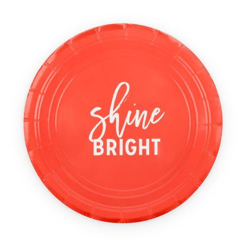 Shine Bright Appetizer Plate