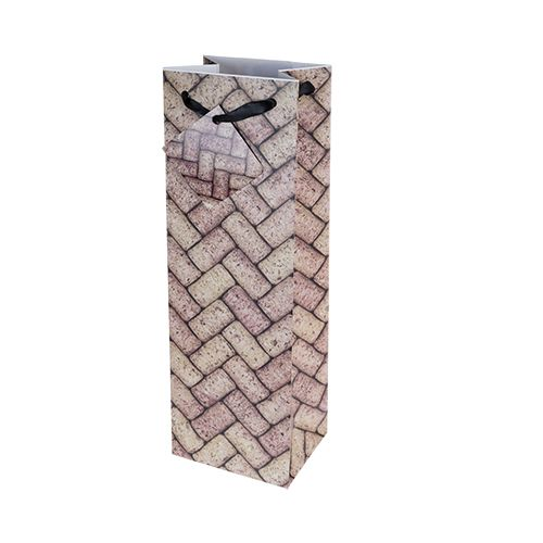 Wine Corks Single Bottle Bag
