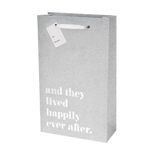 Happily Ever After Silver Double Bottle Bag by Cakewalk