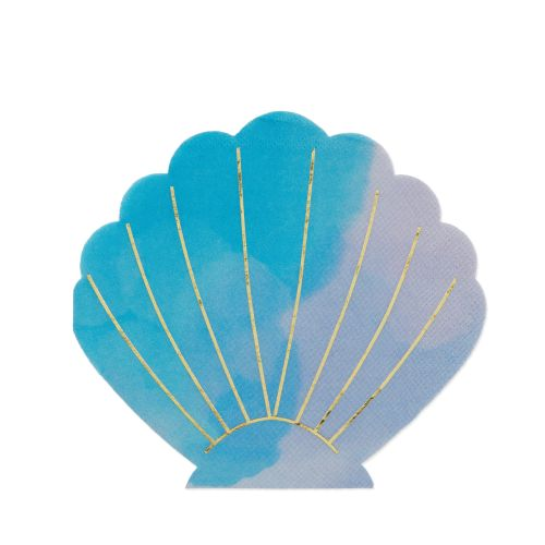 Shell Appetizer Napkin