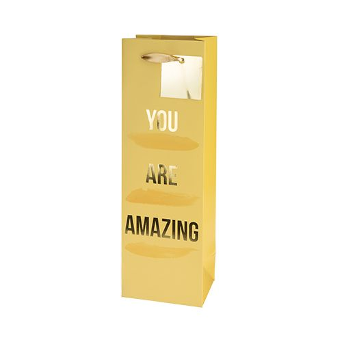 You Are Amazing Single-Bottle Wine Bag by Cakewalk