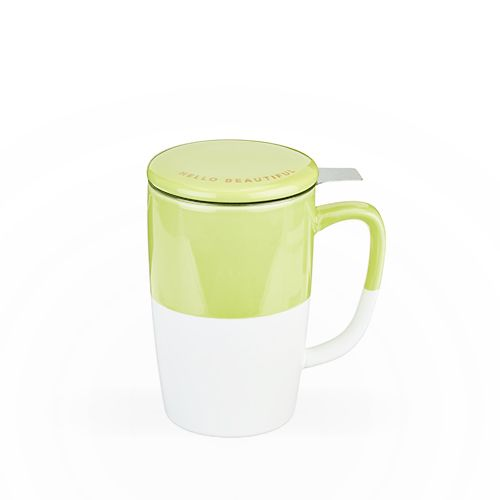 Delia Green Tea Mug & Infuser by Pinky Up