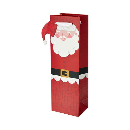 Santa Single-bottle Wine Bag by Cakewalk