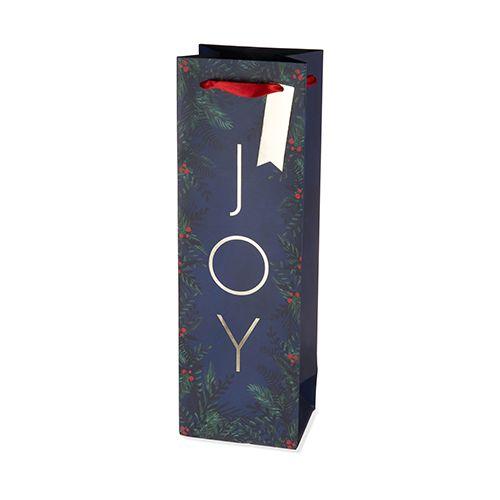 Joy Single-Bottle Wine Bag by Cakewalk
