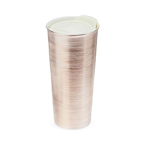 Quinn Rose Gold Travel Tumbler by Pinky Up