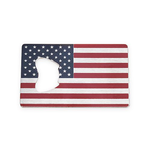 USA Flag Bottle Opener by Foster & Rye