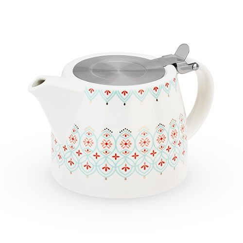 Harper Arabesque Teapot & Infuser by Pinky Up