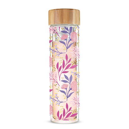 Blair Botanical Bliss Glass Travel Infuser Mug by Pinky Up