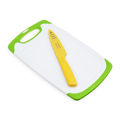 Small Cutting Board with Paring Knife Set by True